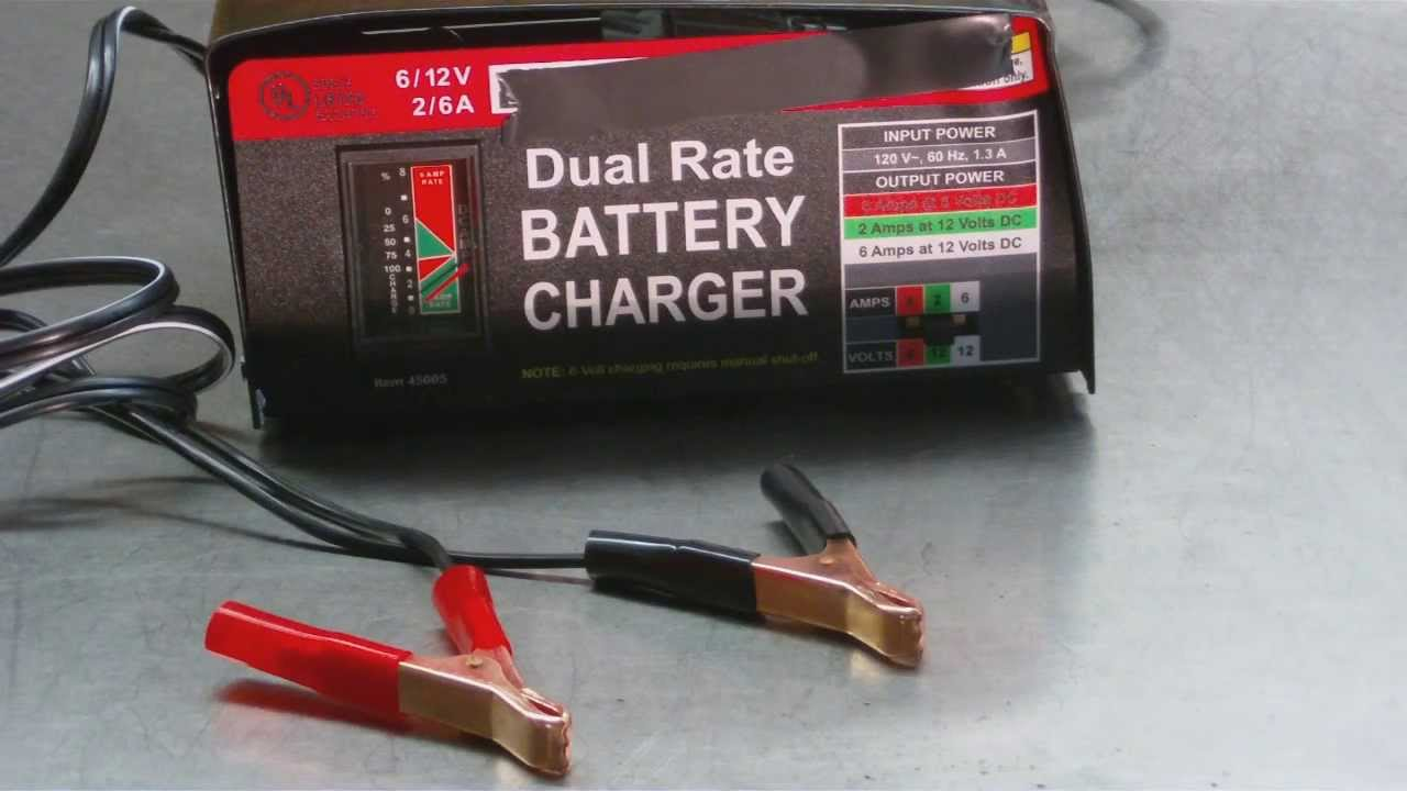 charge batterie auto