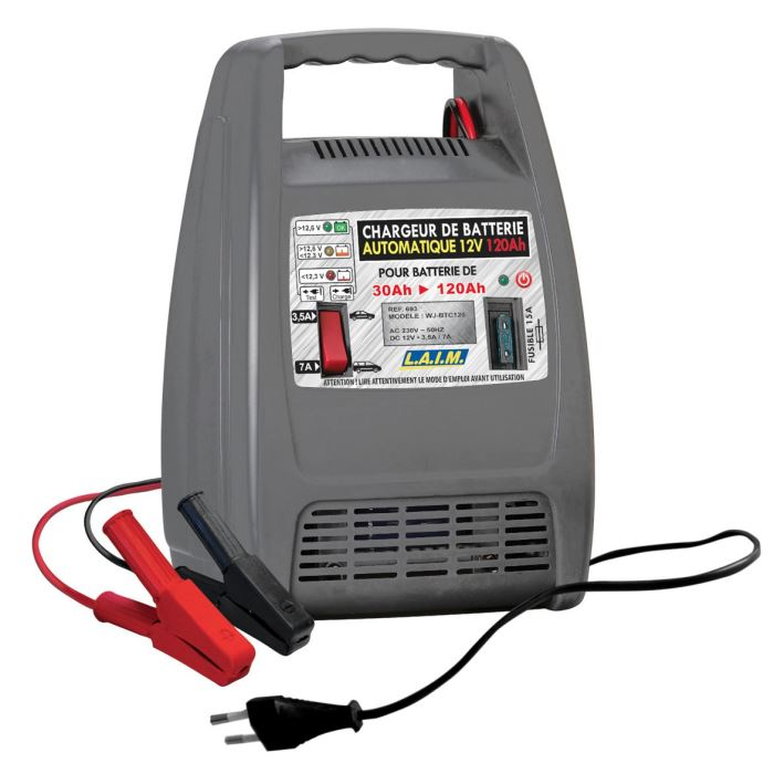 chargeur batterie 12 volts automatique