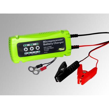 chargeur de batterie voiture intelligent