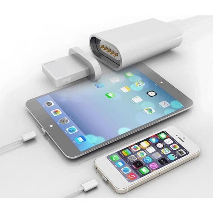 chargeur magnétique iphone 6