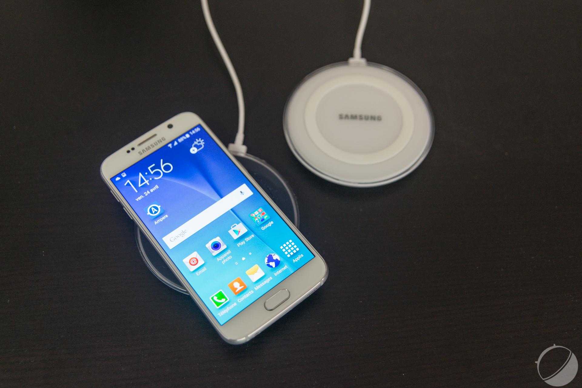 chargeur sans fil samsung s6