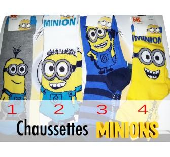 chaussettes minion