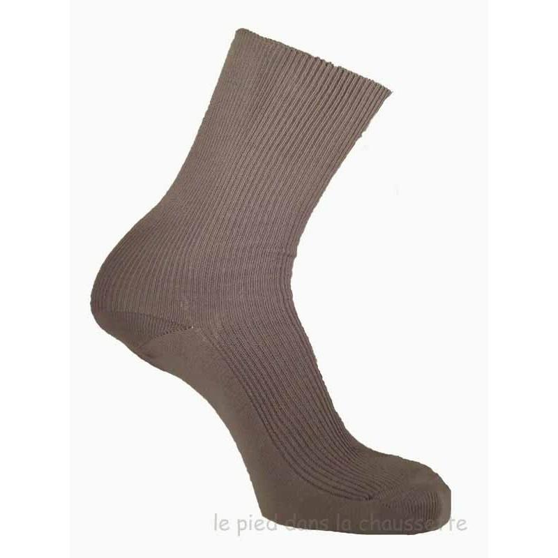 chaussettes sans élastique homme