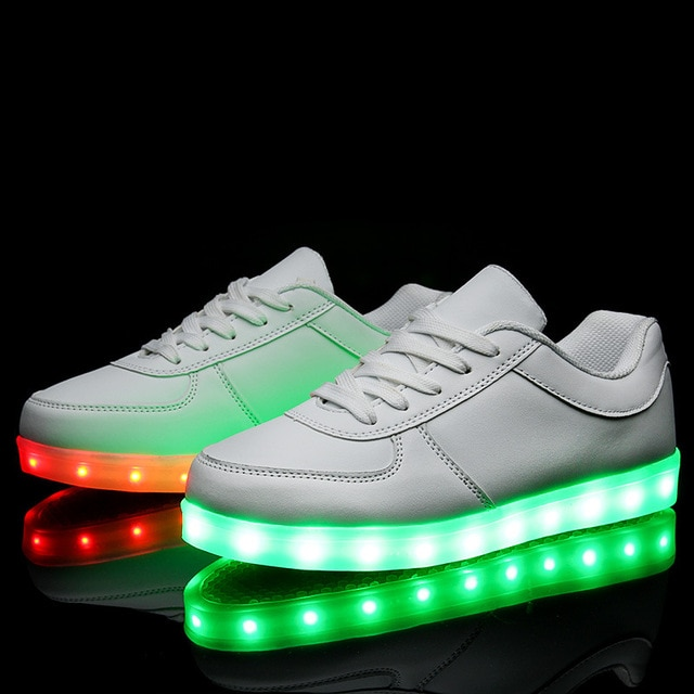 chaussure led