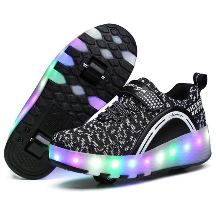 chaussures à roulettes fille