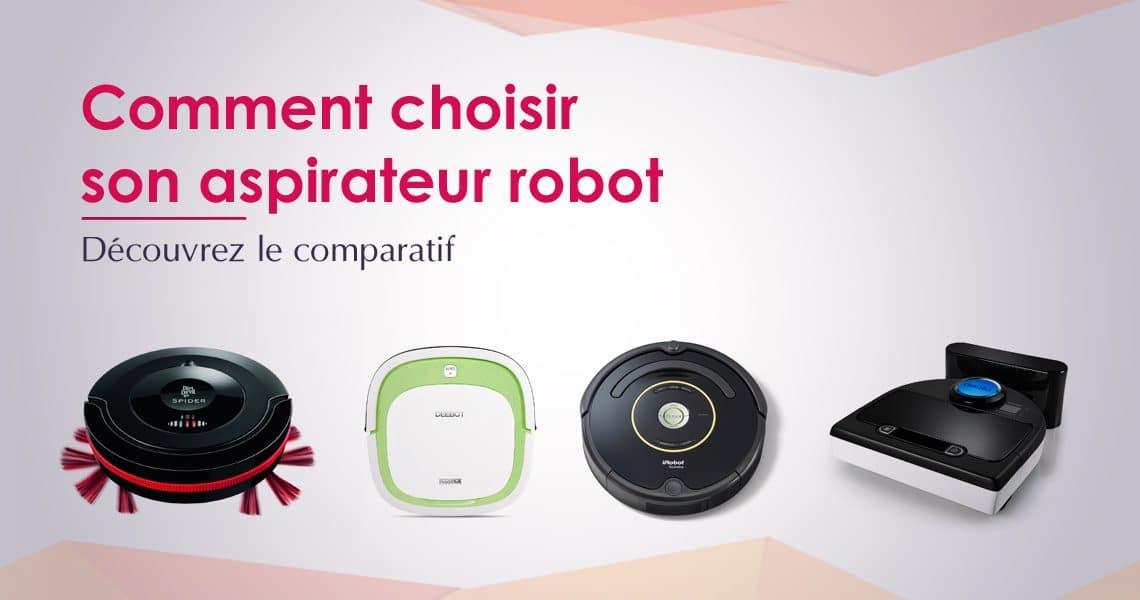 choisir un robot aspirateur