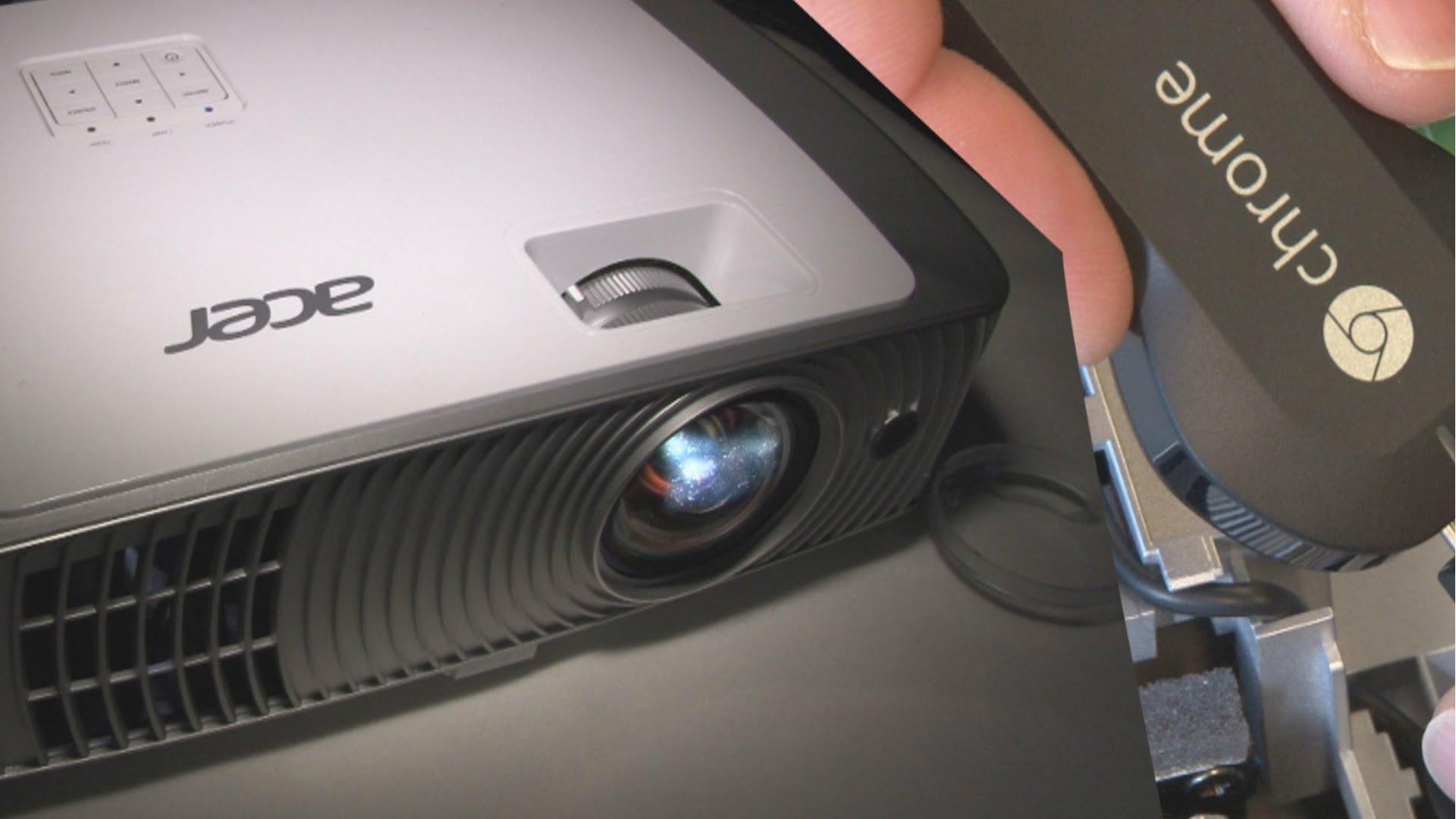 chromecast et videoprojecteur
