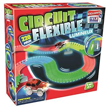 circuit flexible lumineux