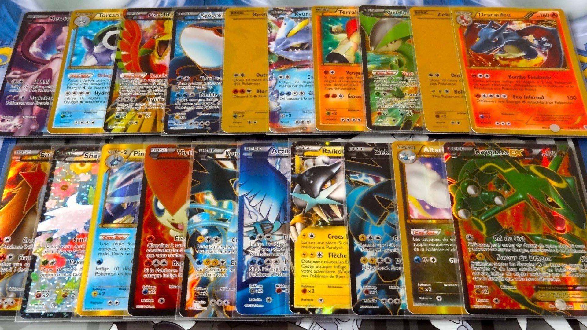classement carte pokemon
