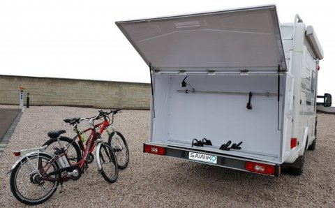 coffre pour porte velo camping car