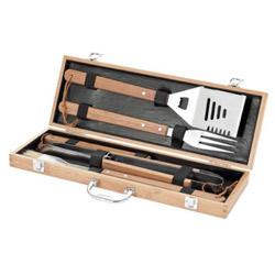 coffret ustensile barbecue