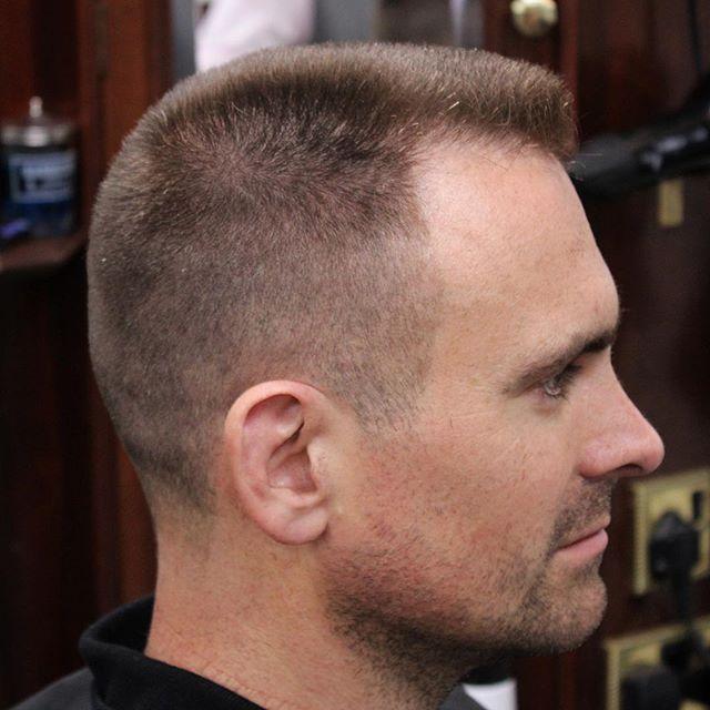 coiffure brosse