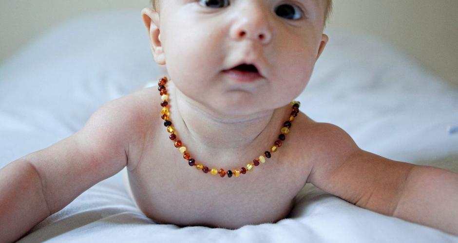 collier ambre bébé danger