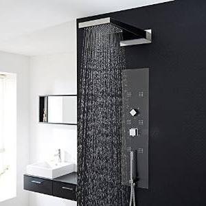 colonne de douche thermostatique encastrable