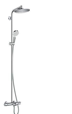 colonne douche baignoire grohe