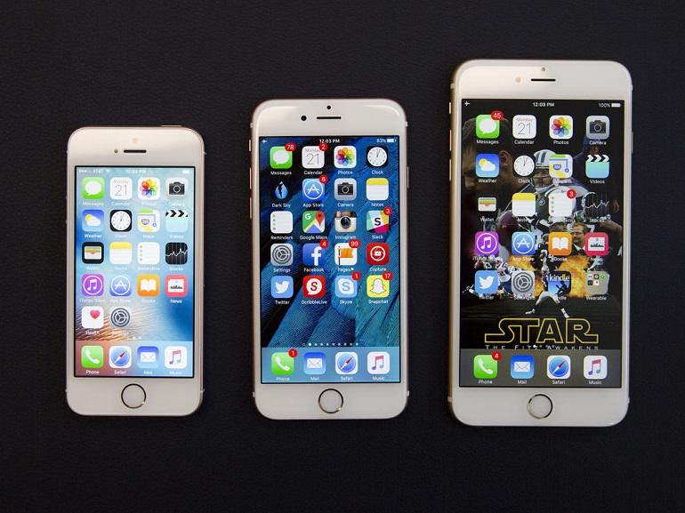 comparatif iphone 5 et se