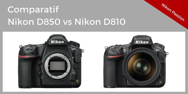 comparatif nikon