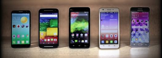 comparatif smartphones moins de 200 euros