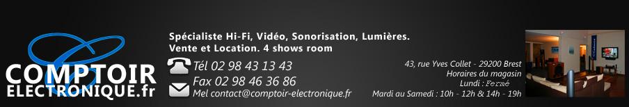 comptoir electronique