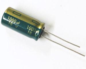 condensateur 1000uf 16v