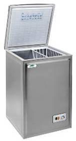 congelateur coffre inox
