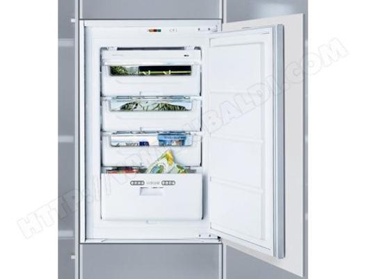 congelateur top encastrable