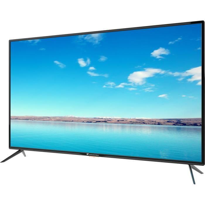 continental edison tv 4k uhd 140cm 55 4 x hdmi