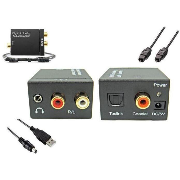 convertisseur audio digital vers analogique