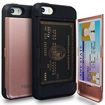 coque porte carte iphone se