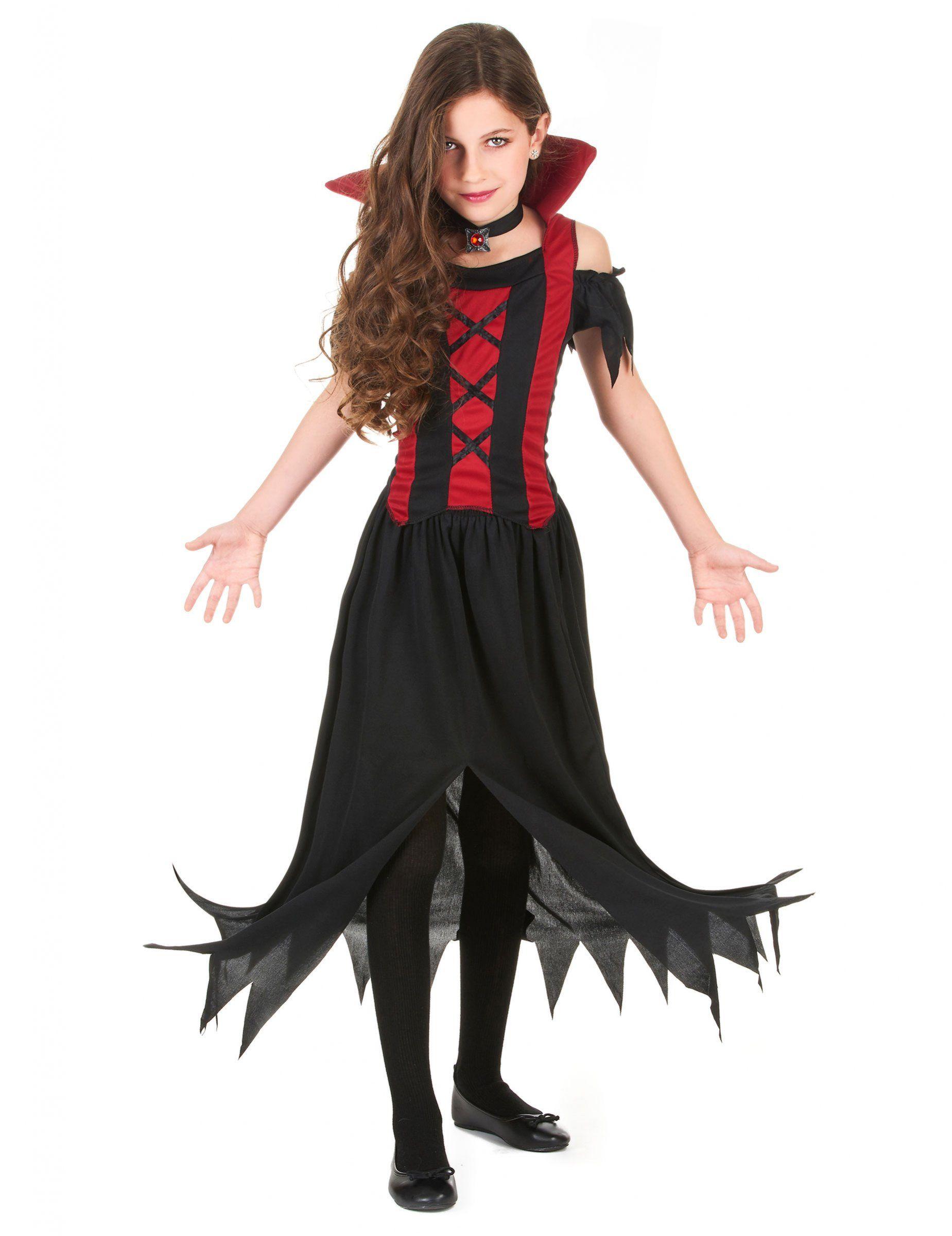 costume de vampire fille