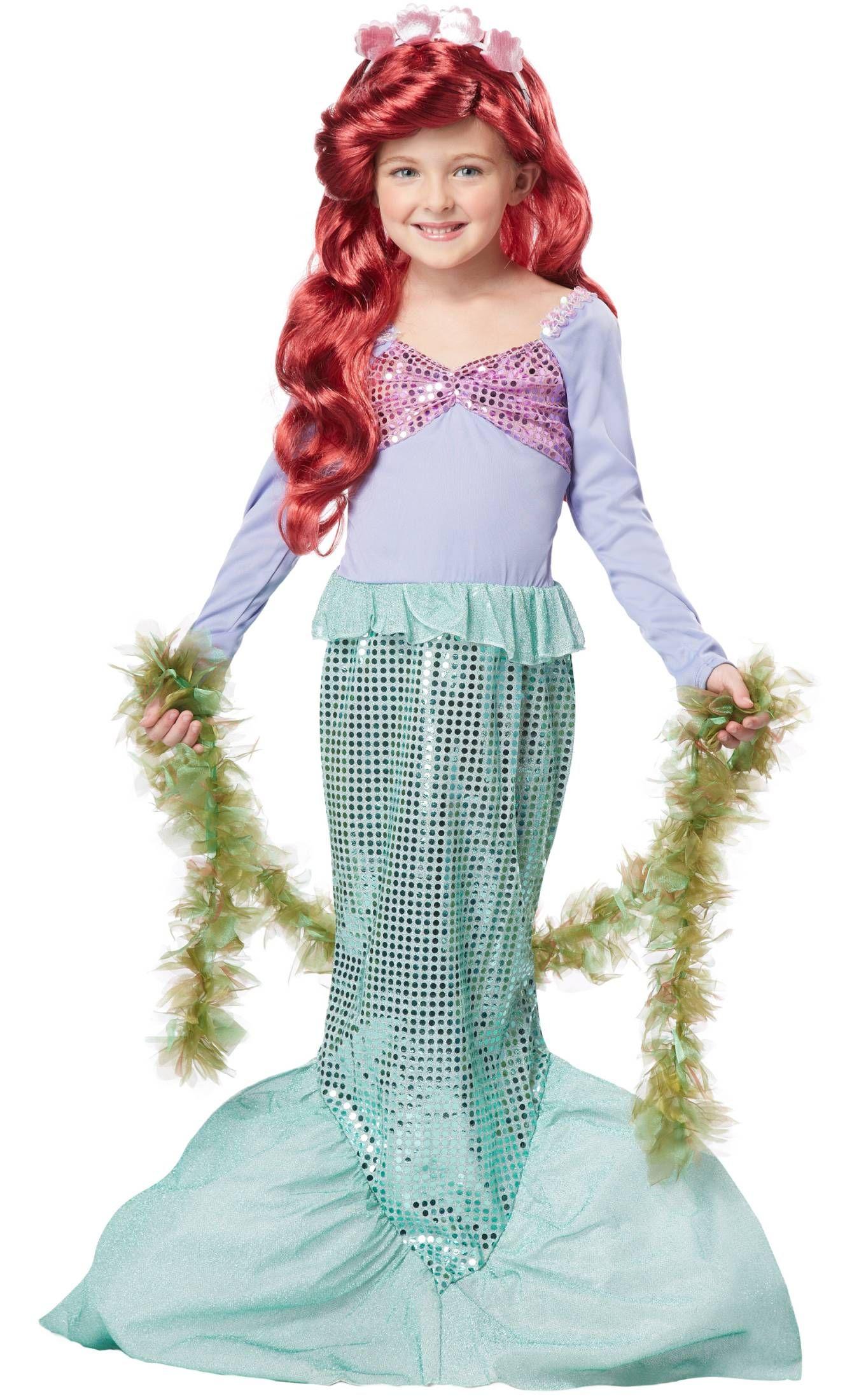 costume sirene fille