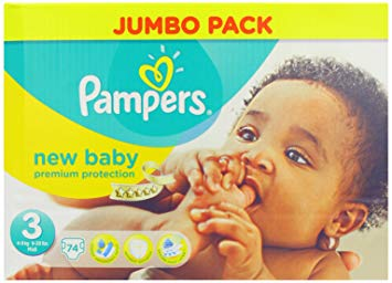 couches pampers new baby taille 3