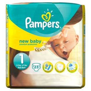 couches pampers taille 1