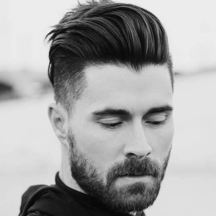 coupe de cheveux et barbe