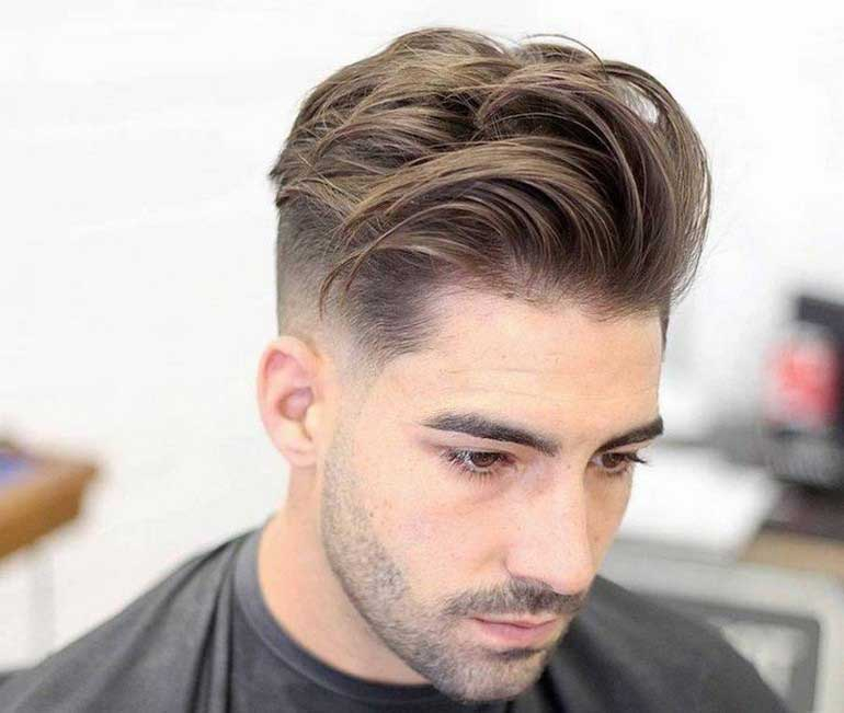 coupe homme mi long 2017