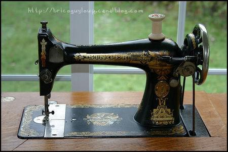 courroie machine a coudre singer a pedale