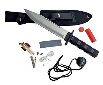 couteau survie amazon