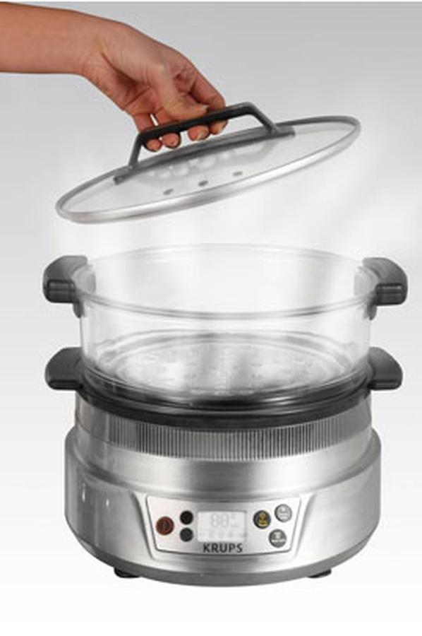 cuit vapeur electrique inox verre