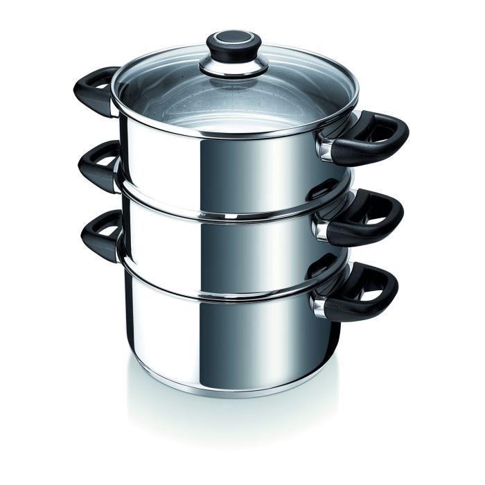 cuit vapeur inox pour induction