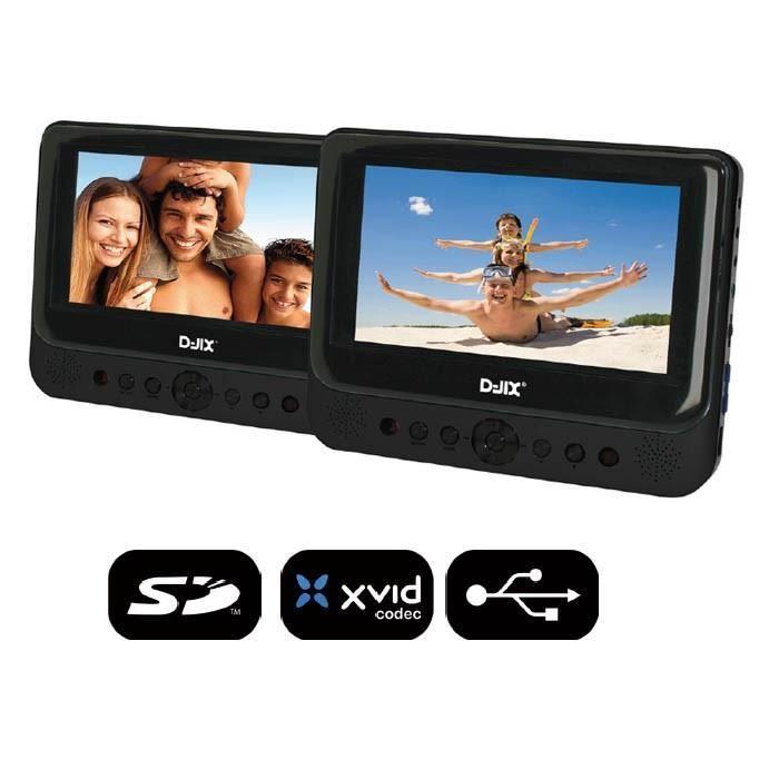 d-jix lecteur dvd portable