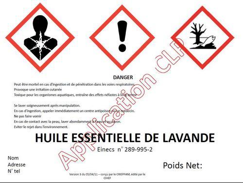 danger huile essentielle