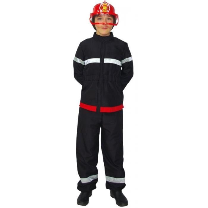 déguisement enfant pompier