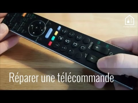 demonter telecommande sony