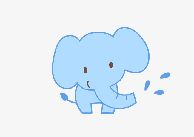dessin elephant mignon