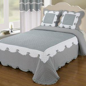 dessus de lit grande largeur