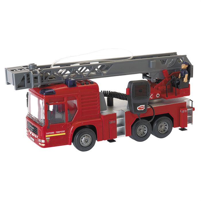 dickie toys camion pompier