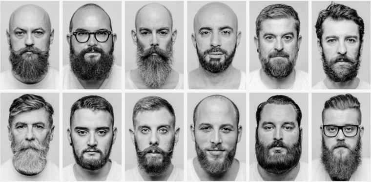 differente taille de barbe