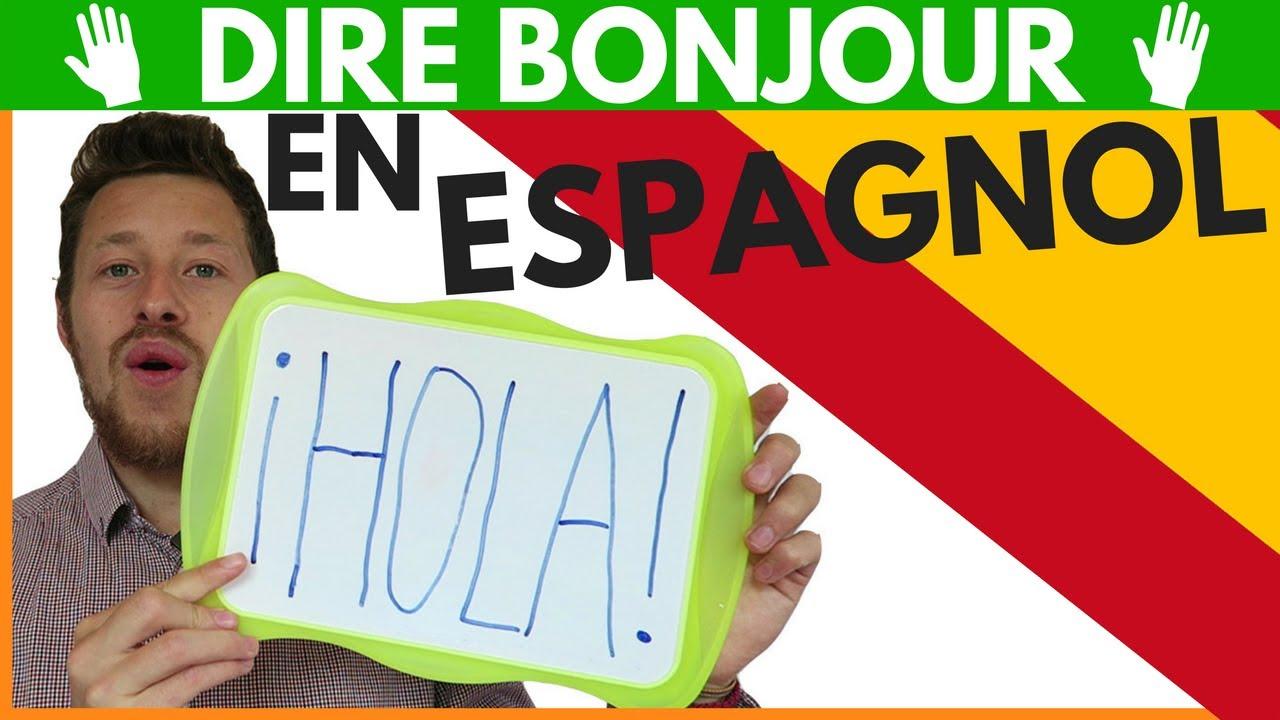 dire en espagnol