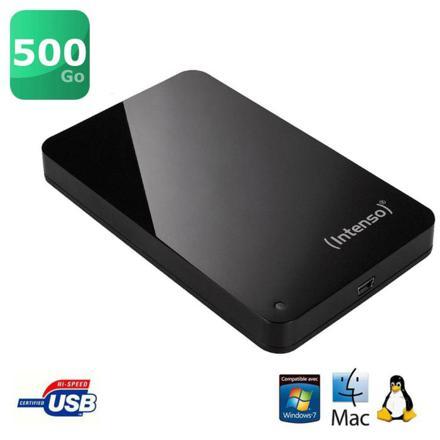disque dur externe 500 go prix