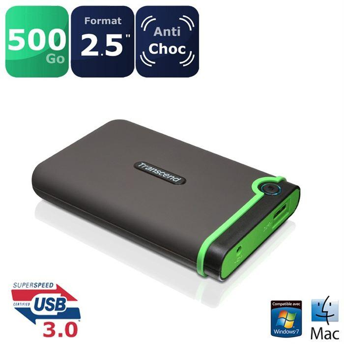 disque dur externe 500mo